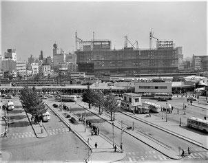 1963年の新宿駅