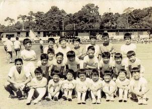 初代駒場サッカー少年団 in 1970