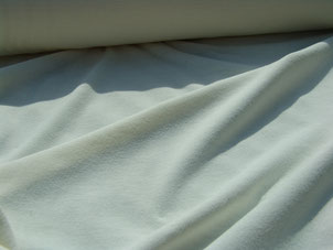 Baumwolltrikot naturfarben