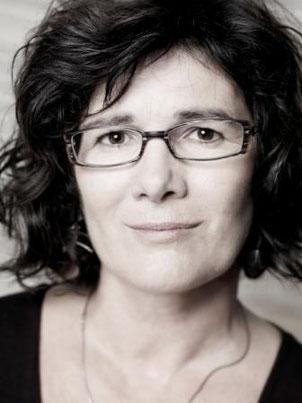 la poeta Diane Régimbald