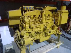 Moteurs marins CAT 3406 DIT dans notre entrepôt de Saint-Martin-de-Crau  - Les occasions Lamy Power