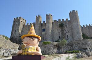 Castillo de Óbidos (Portugal). © Lupe Rangel.