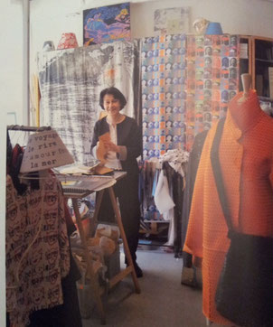 Elisabeth de Senneville : Artiste, créatrice de mode, techno-designer et spécialiste de l'innovation textile