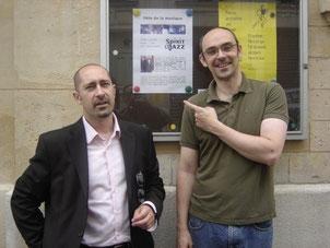 Jean Szlamowicz et Jérôme Partage, Paris (2009)