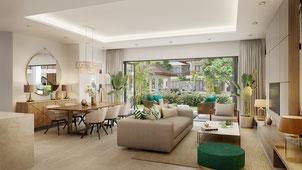 16 appartements de LUXE de 170 m2 chacun