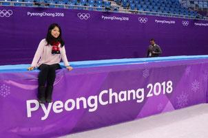 フィギュアスケートのリンクで