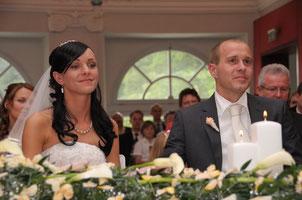 Trauung in der Orangerie in Ansbach