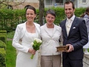 Eheschließung im Hirsvoglsaal der Stadt Nürnberg