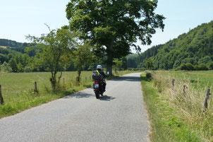 Unterwegs auf der Ourtal Route