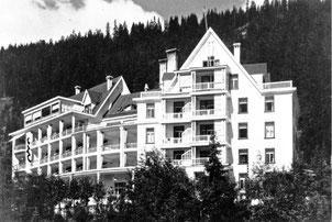 Waldsanatorium Davos-Platz 1912