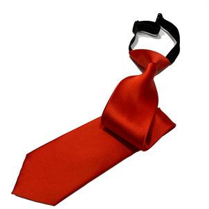 corbata laboral roja