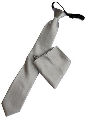 corbata laboral gris