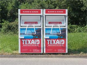 Ab sofort keine Kleidersammlung mehr in Gossau ZH. Bild: texaid.ch