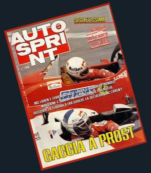 Caccia a Prost in Autosprint