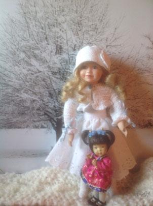 Porcelain dolls, Dianna Effner Blossom doll