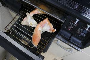 鮭カマグリル画像