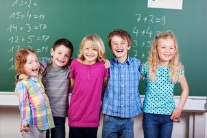 Grundschüler bei Haus der Nachhilfe