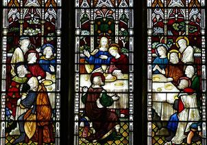 Am Gründonnerstag feiert Jesus mit seinen Jüngern das letzte Abendmahl.