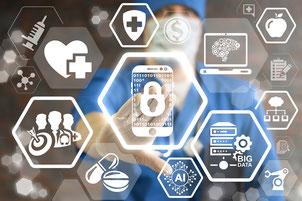Digitalisierung und Big Data bieten viele Chancen zur Optimierung von Behandlungen und Erzielung besserer Therapieerfolge. (Foto: Fotolia– wladimir1804 / idw)