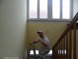 Malerarbeiten abgeschlossen