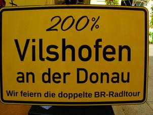 Vilshofen, der Zielort mit dem schönsten Sonnenschein