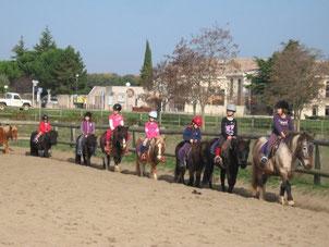 Cours à poney