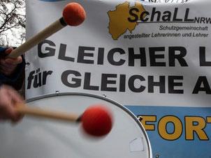 Für März ist eine weitere Verhandlungsrunde angesetzt. Zuvor könnte es zu Warnstreiks kommen, laut dbb bereits in der kommenden Woche. Foto: Paul Zinken/Archiv