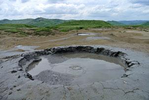 Sehensert: Schlammvulkane von Buzau