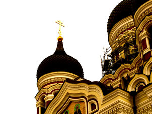 die orthodoxe Katharina-Kirche