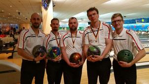 Bowling Herrenteam von GSBV Halle/Saale