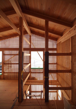 伝統木造建築の木組み
