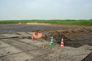図2.工事があって裸地ができたときの画像