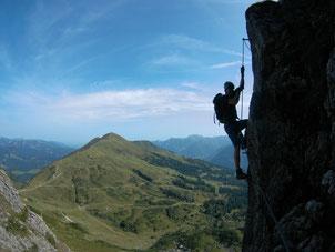 zweiländer klettersteig kanzelwand