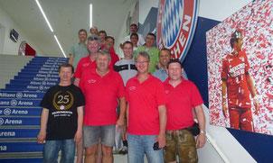 Die Oberpfälzer kamen dem FC Bayern München ganz nah. Foto: wfl