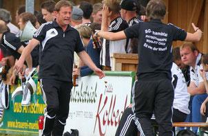 Wolfgang Galli hat aus seiner Trainerzeit bei der SG Chambtal schon Erfahrung mit SG-Mannschaften. Foto: ctm