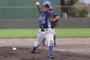 豊岡 響 君-寺井学童野球クラブ主将