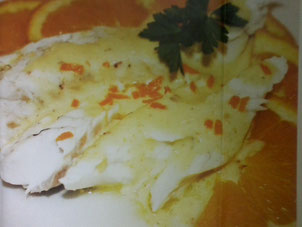 spigola con agrumi- ricetta