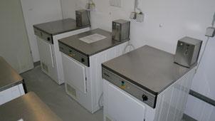 Bild: Münzwaschmaschinen und Münztrockner in der Residenz Meeresbrandung