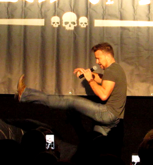 Sean Patrick Flanery at weekend of Hell