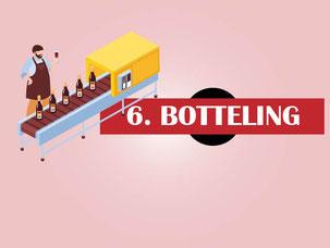 Hoe wordt rode wijn gemaakt? Stap 6 Botteling