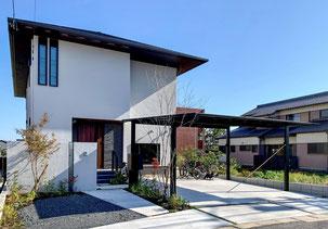 名古屋市K・Y様邸 木目調門塀が素敵なモダン外構