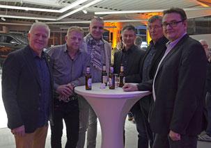 Richard Hubers, Werber Bretz, Karl Heinz Klemens, Bernd Hennewig, Uwe Schmitz
