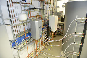 Aufbau Teststand - thermische Seite