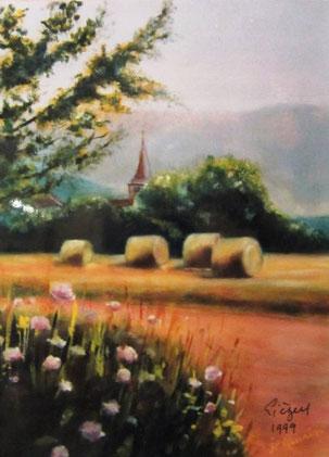450- le village de Lièzey près de Gérardmer