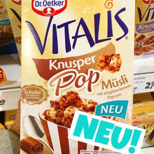 Dr.Oetker Vitalis Knusper POP Müsli Schoko