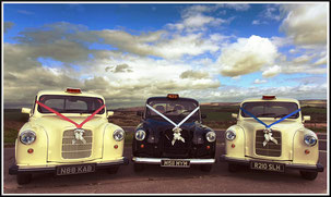 White London Taxi Wedding Cars