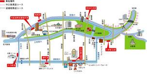 ※大阪市中央市場前の船着場も可能です