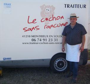 Le Cochon sans rancune - Philippe Bruneau - Traiteur en Sologne du Loir-et-Cher et du Loiret
