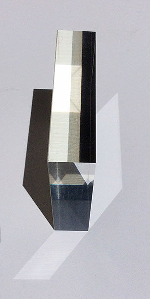 Acrylic glass 2,5 cm thick
