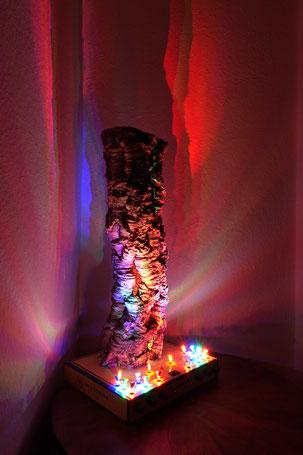Kunstvolle Lampen Stimmungslampe Designerlampe Lampe kaufen München Leuchte Leuchtart Lichtkunst Natur Handarbeit